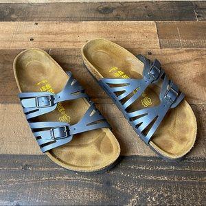 Birkenstock Granada Sandals Blue Size 40